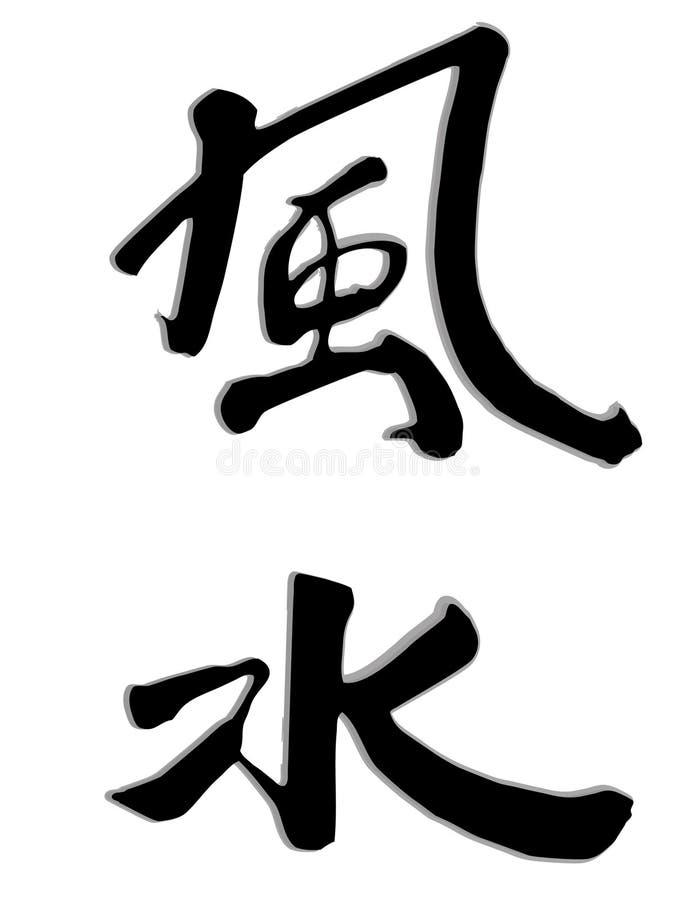 feng shui向量 向量例证