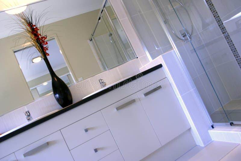 Feng Shui - cuarto de baño fotos de archivo