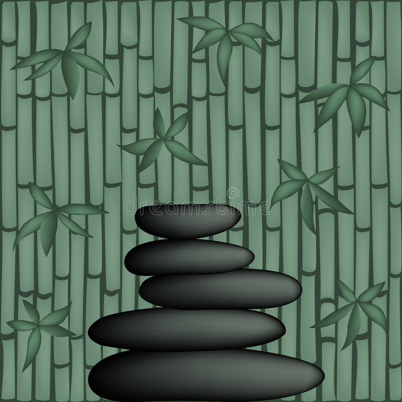 feng shui ilustracyjny wektora zdjęcie royalty free