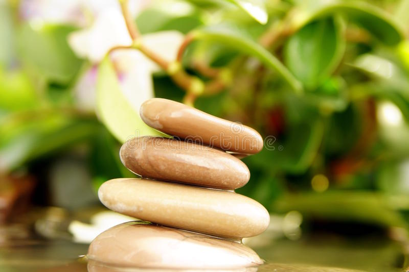 Download Feng Shui, The Stones In The Water Stock Photo - Image: 27016774