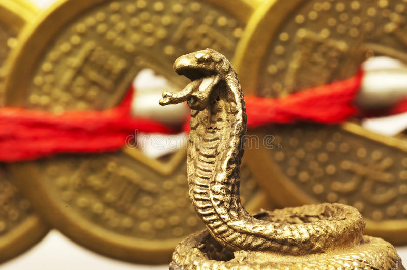 Feng Shui Year Of The Snake Royalty Free Stock Photo