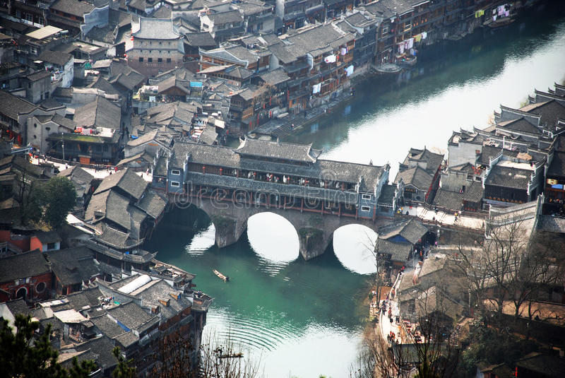 Download Fenghuang Ancient Town Of Hongqiao Royalty Free Stock Photography - Image: 29677667