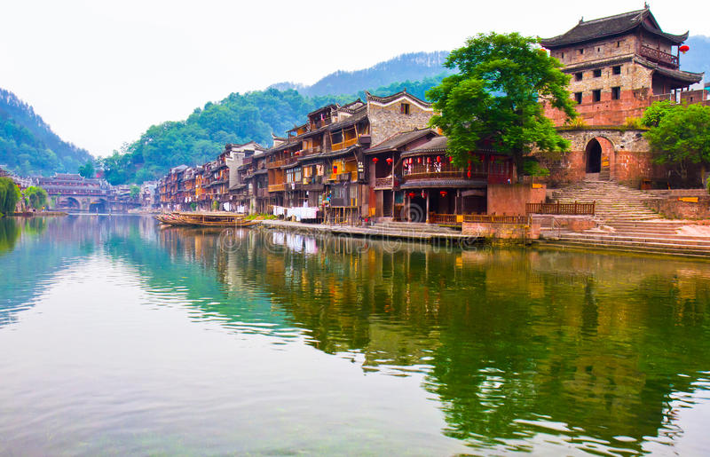 Download Fenghuang, China stock image. Image of horizontal, journey - 21720225