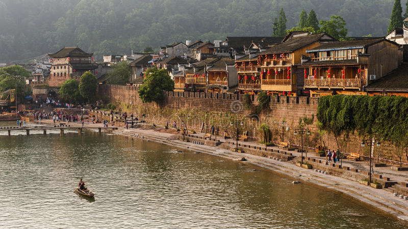Fenghuang, China royalty-vrije stock afbeelding