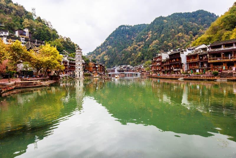 Fenghuang, China stock afbeeldingen