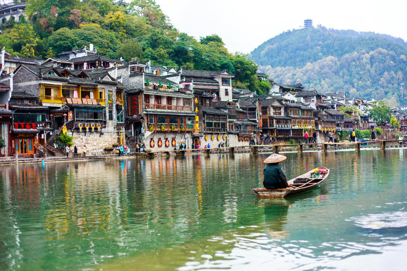 Fenghuang, China stock images