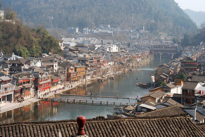 Download Fenghuang County stock image. Image of china, ornamental - 28948577