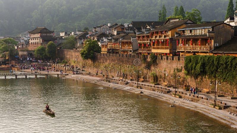 Fenghuang Kina royaltyfri bild