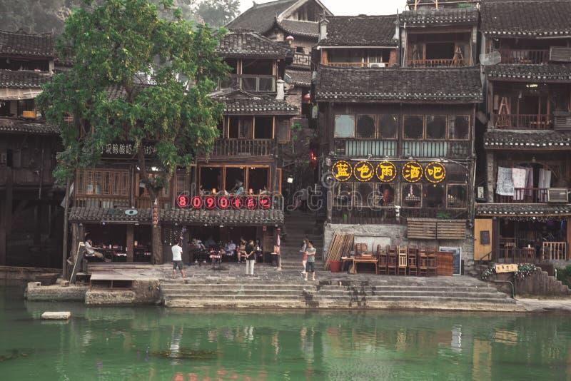 Fenghuang oude stad royalty-vrije stock afbeeldingen