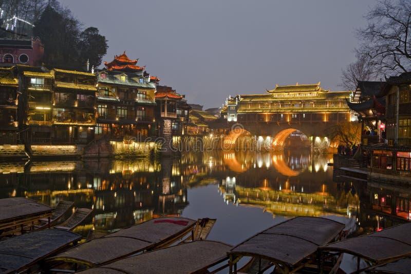 Fenghuang, provincia de Hunán, China meridional fotografía de archivo libre de regalías