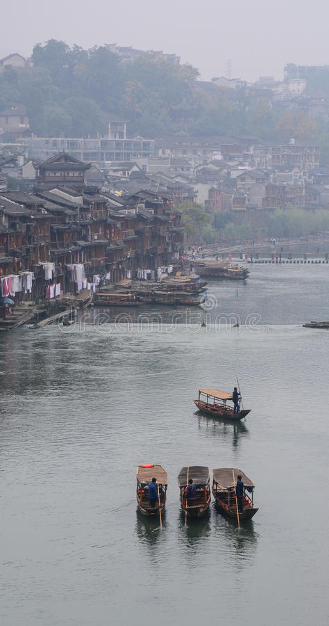 Fenghuangstad in Hunan, China royalty-vrije stock foto
