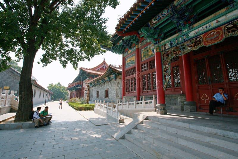 Fenjiu in Shanxi royalty free stock photo