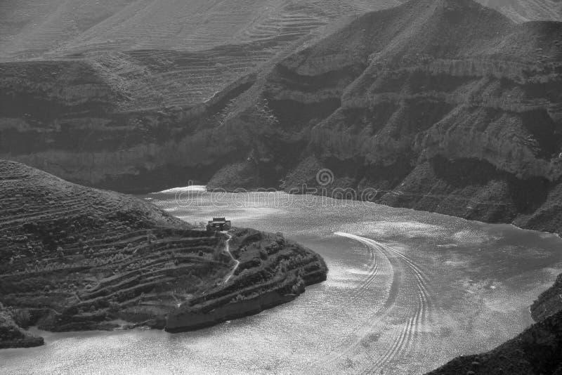 Fenn-Fluss-Reservoir lizenzfreie stockfotos