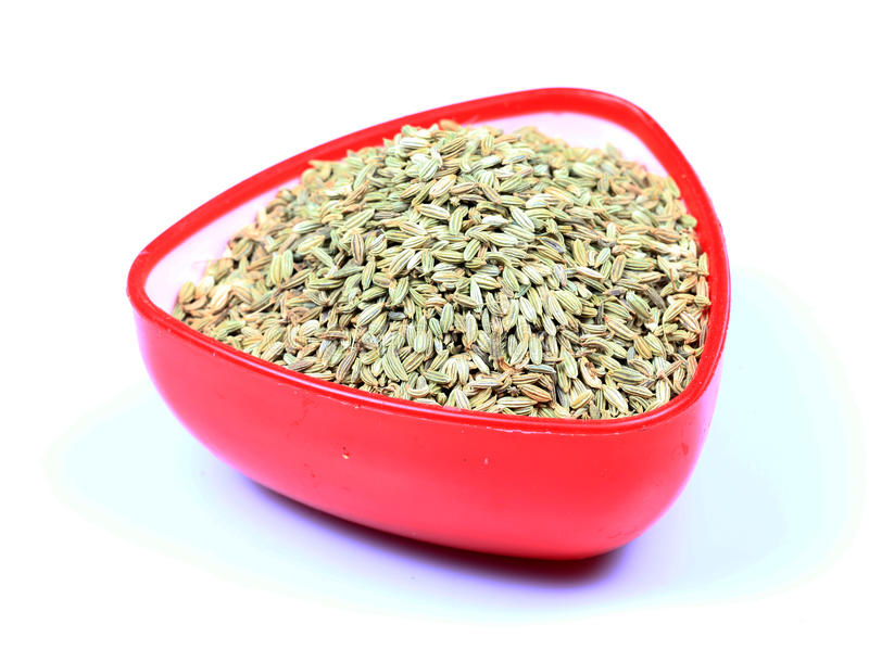 Download Fennel seeds stock photo. Image of food, isolated, background - 17905174