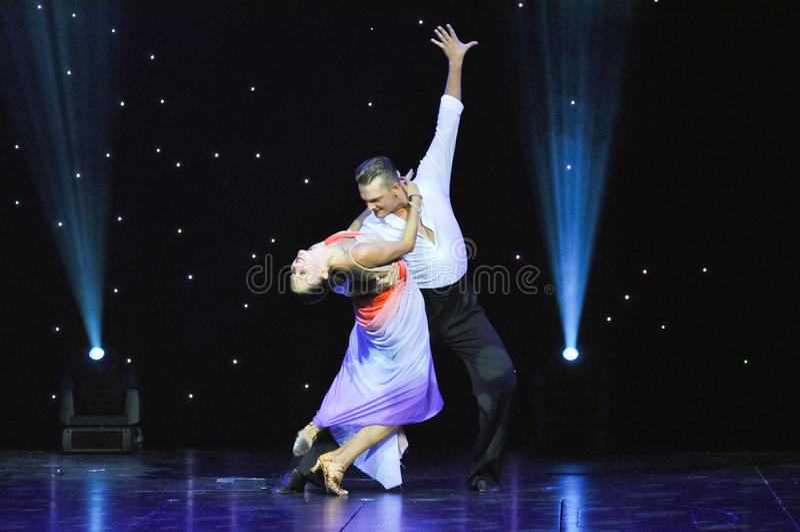 Fenomenalni tancerze fotografia stock