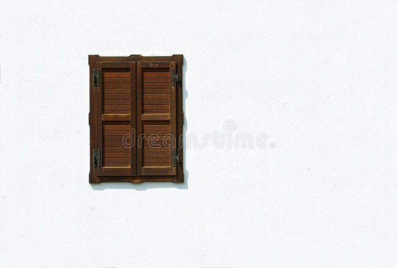 Fenster auf Weiß stockfoto