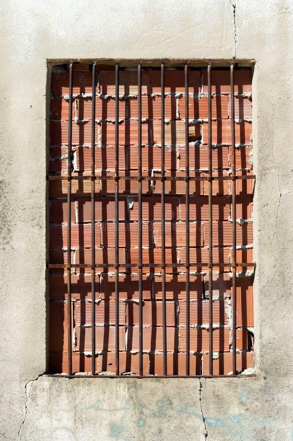 Fenster blockiert lizenzfreie stockfotos