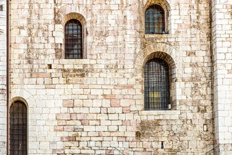 Fenster in den Fassaden lizenzfreies stockbild