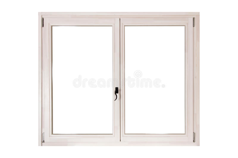 Fenster der doppelten Tür lizenzfreie stockbilder