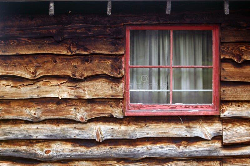 Fenster in der Kabine stockfoto