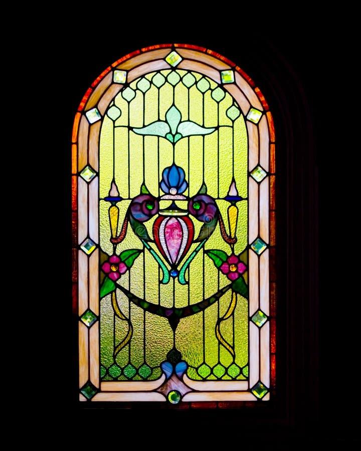 Fenster der Leuchte lizenzfreie stockfotografie
