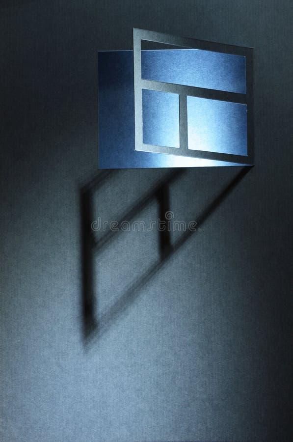 Fenster in der Nacht lizenzfreies stockbild