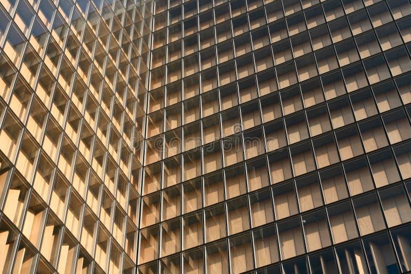 Fenster der Paris-Bibliothek stockfotos