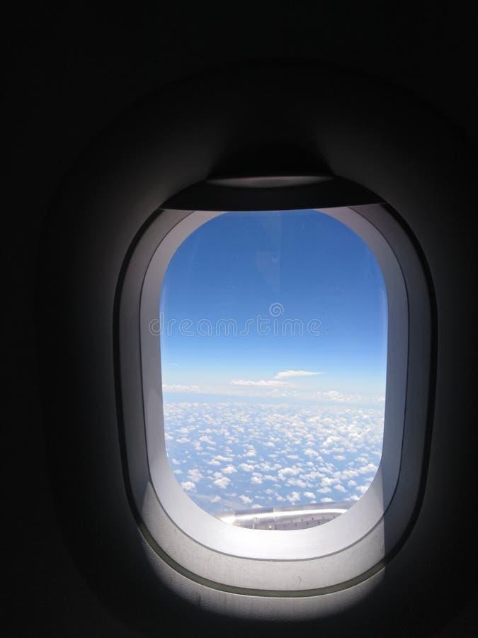 Fenster des Himmels lizenzfreie stockfotografie
