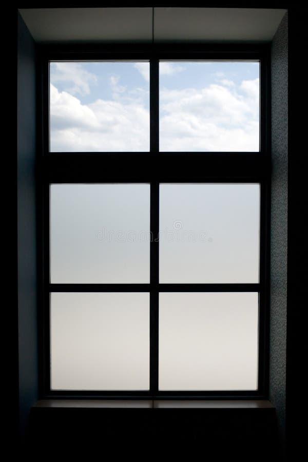 Fenster-Feld lizenzfreie stockbilder