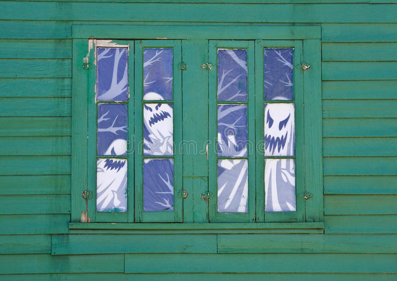Fenster-Geister stockfoto