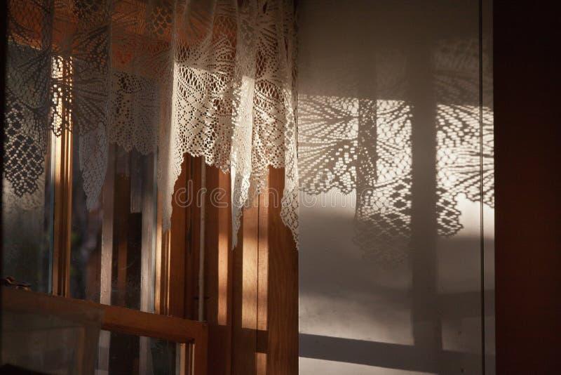 Fenster helles Silver Lake Kalifornien stockbild