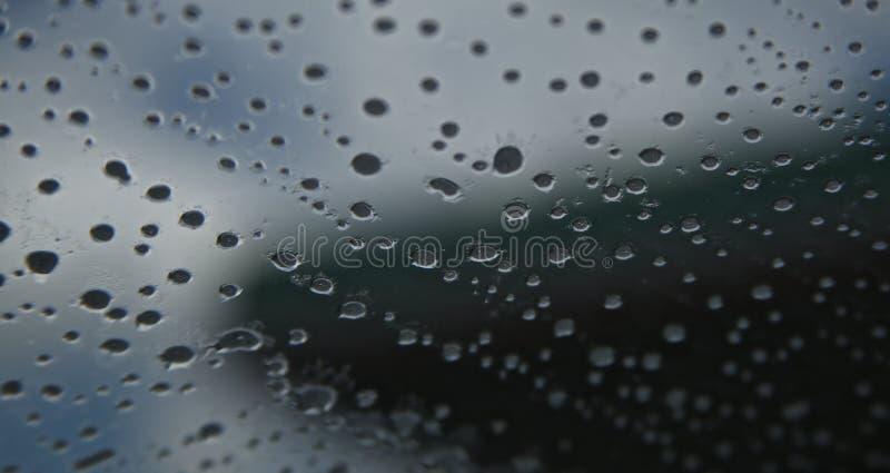 Fenster nach Regen lizenzfreies stockfoto