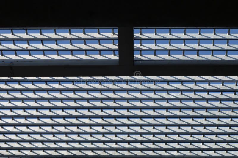 Fenster ohne Ausgang und Ende stockfoto
