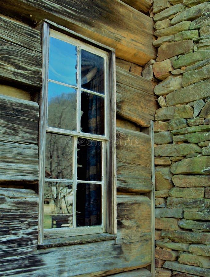 Fenster Reflections stockbild