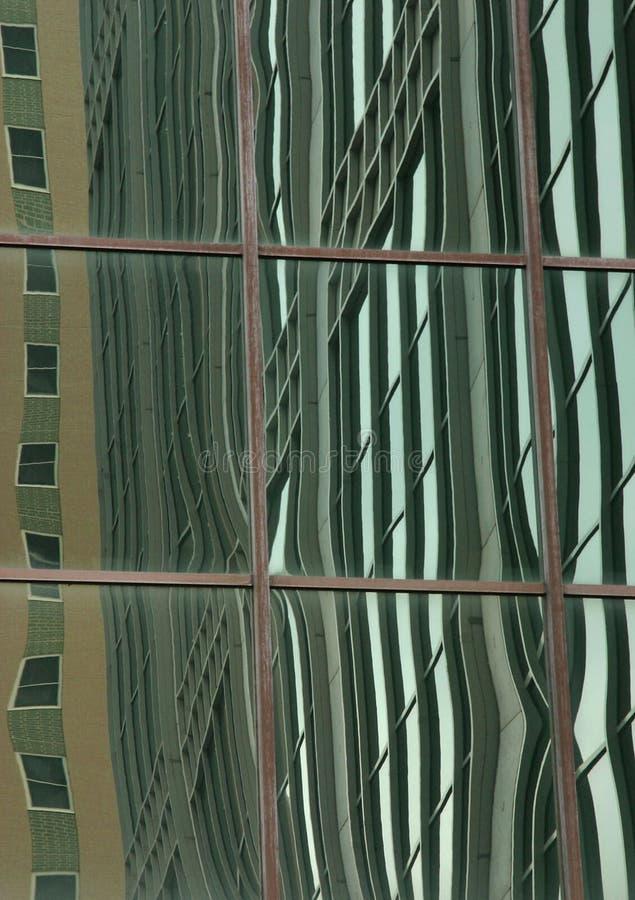 Fenster-Reflexionen Lizenzfreie Stockfotografie