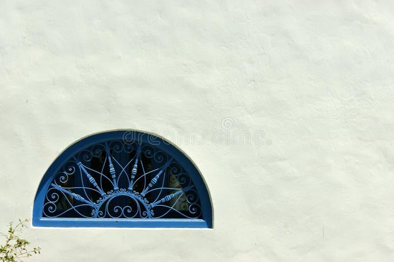 Fenster Sidi Bou Said stockfotos