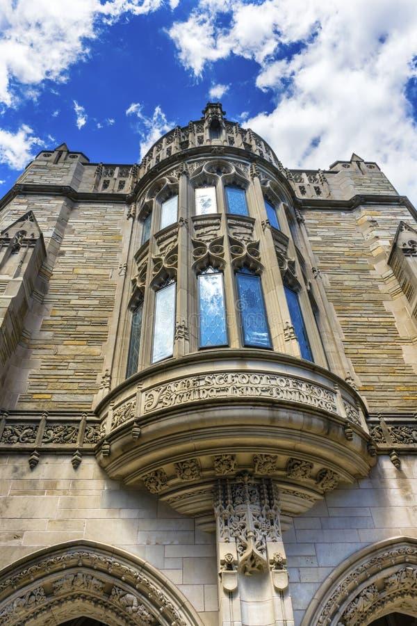 Fenster Sterling Law School Yale University New-Haven Connecticut stockbild