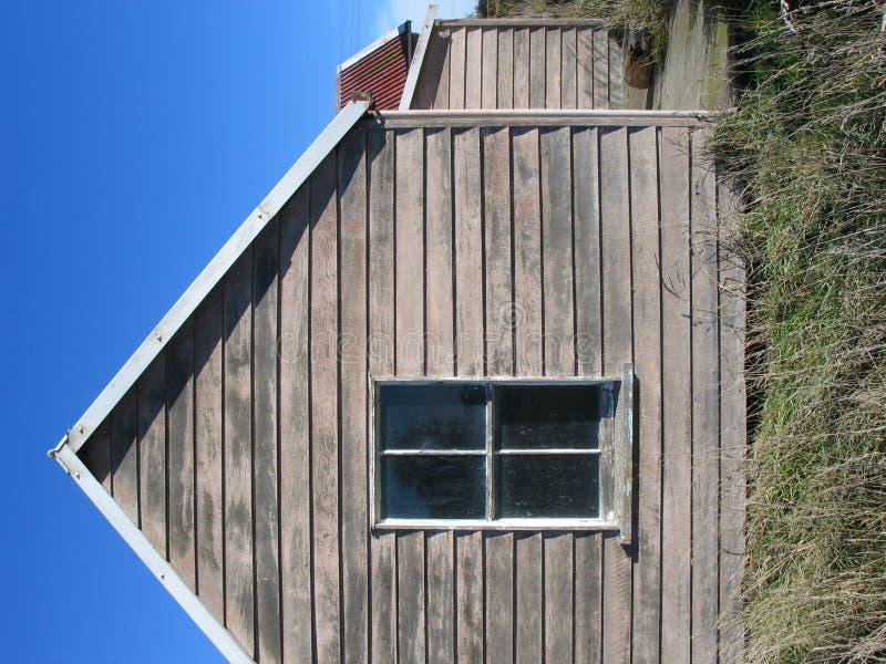 Fenster und Himmel stockfoto