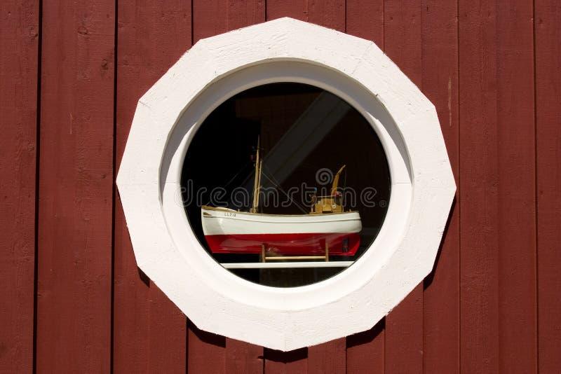 Fensterdetail, Schweden lizenzfreies stockbild