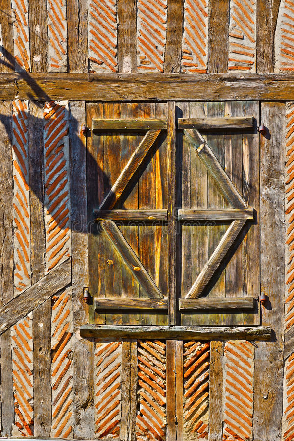 Fenstertür lizenzfreies stockbild