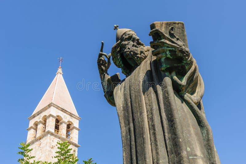 Fente, Croatie Gregory de Nin photos libres de droits
