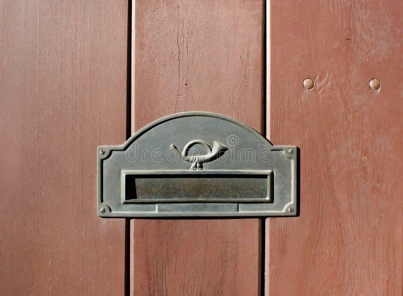 Fente de courrier photos stock