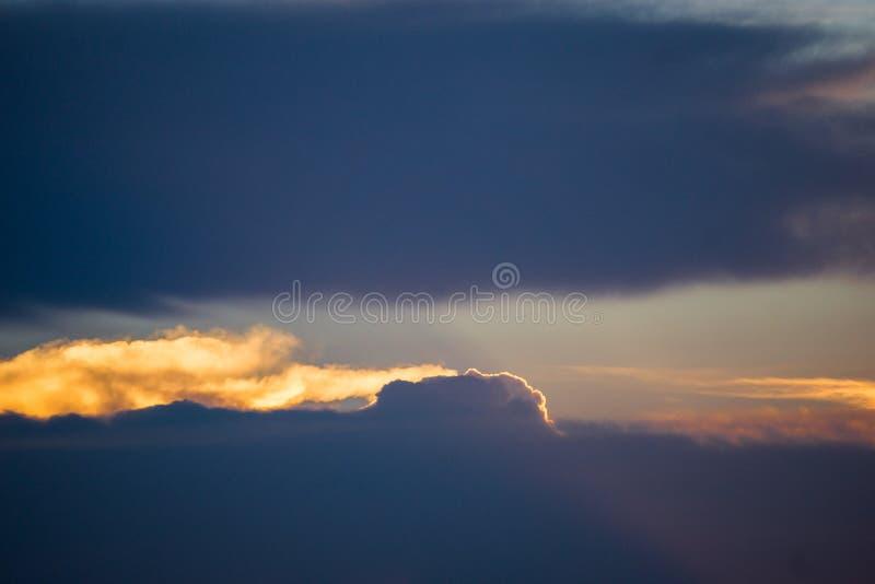 Fente de nuage photos libres de droits