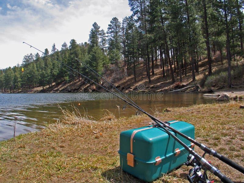 Fenton Lake New Mexico imagens de stock