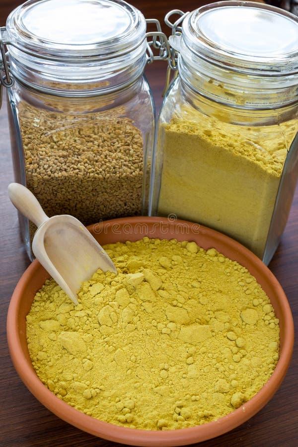 Download Fenugreek powder stock image. Image of ingredient, blend - 31650111