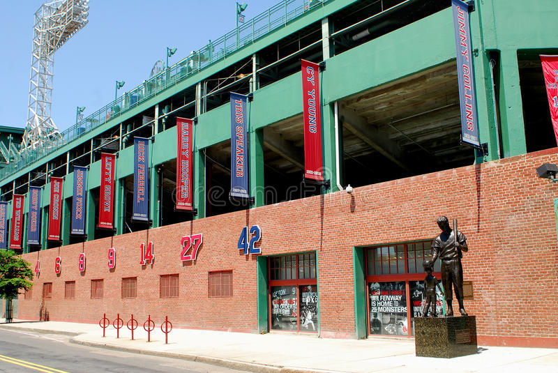 Download Fenway Park, Boston, MA editorial stock image. Image of legends - 20467574