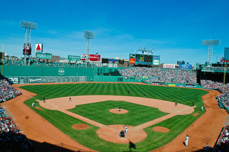 Fenway Park Boston, Ma stock image