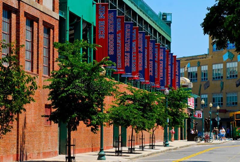 Fenway Park, Boston, mA fotografía de archivo libre de regalías