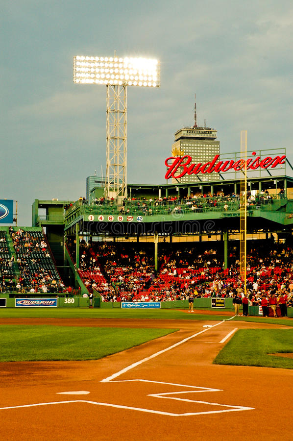 Fenway Park d'annata, Boston, mA fotografia stock