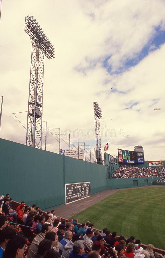 Fenway Park d'annata, Boston, Massachusetts immagine stock
